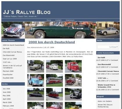 JJ´s Rallye Blog