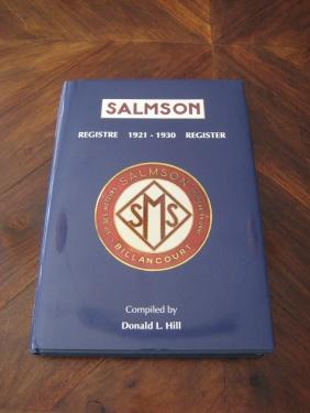 Salmson Register 1921-1930