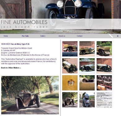 Fine Automobiles - Investment in pleasure_1257430908741