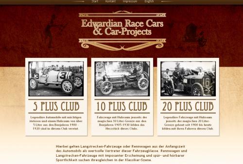 Edwardian Race Cars & Car Projects