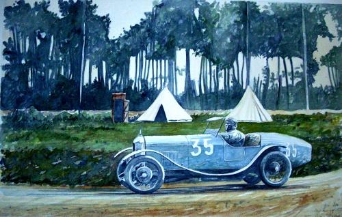 Salmson GS at le Mans 1928
