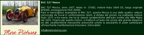 Motorstorica BNC
