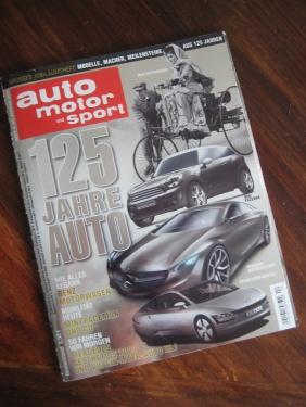 AutoMotorSport125 Jahre Automobil