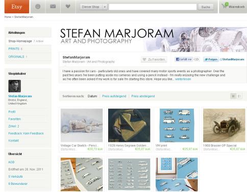 Stefan Marjorams Shop