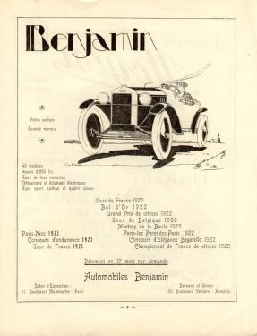 Benjamin-Anzeige-1923