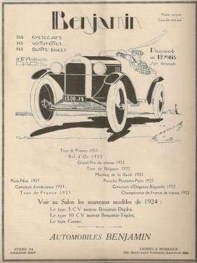 Benjamin-Anzeige-1924