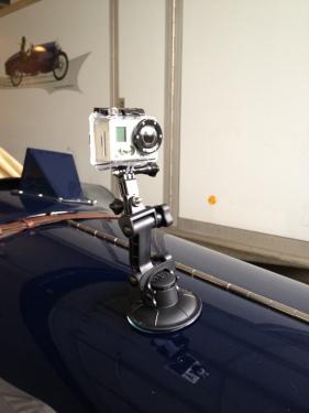 Amilcar mit GoPro Hero 2