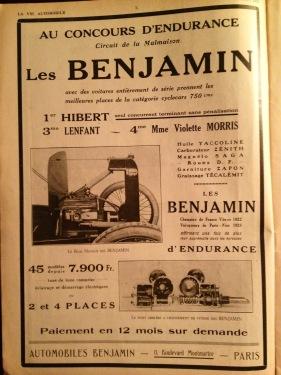 Benjamin Motor