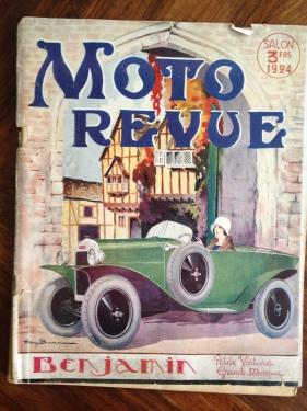 Moto Revue 1924, Benjamin