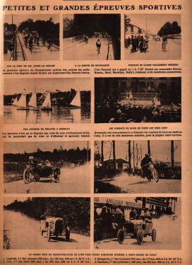 Le Grand Prix Du Motocycle-Club De Lyon a St.Andre Corcy 21.5.1922