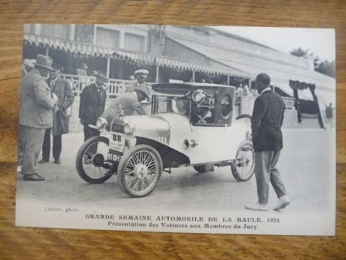 Grand semine Automobile de la Baule 1924