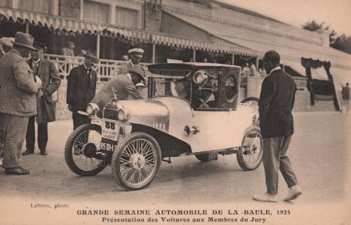 Postakrte 1924 Typ 5HP Begatelle