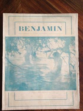 Benjamin Zeitung 1925