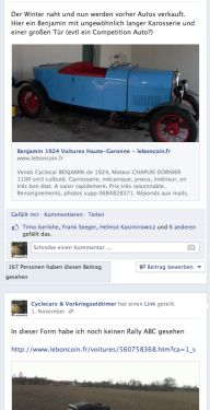 Michis Oldtimer auf Facebook