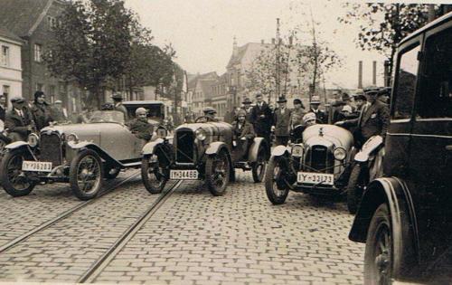 vor Fuchsjagd 1930