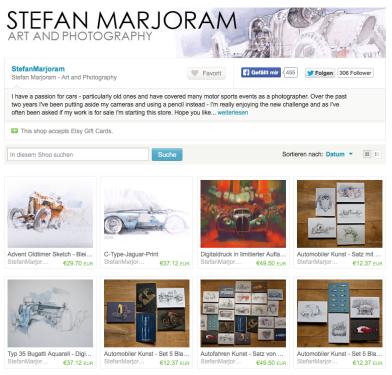 Stefan Marjoram Shop