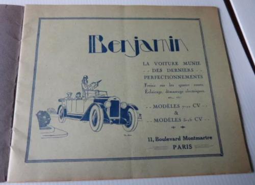 Benjamin Katalog 1927