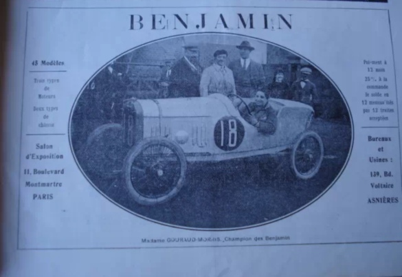 Anzeige Cyclecars & Voiturettes 1922