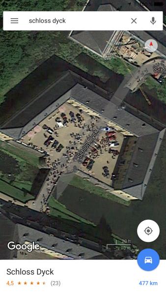quelle:https://www.google.de/maps/place/Schloss+Dyck/@51.1423607,6.5576582,124m/data=!3m1!1e3!4m2!3m1!1s0x47bf4d2237b1f181:0x2b7c7de5c13a6c8c