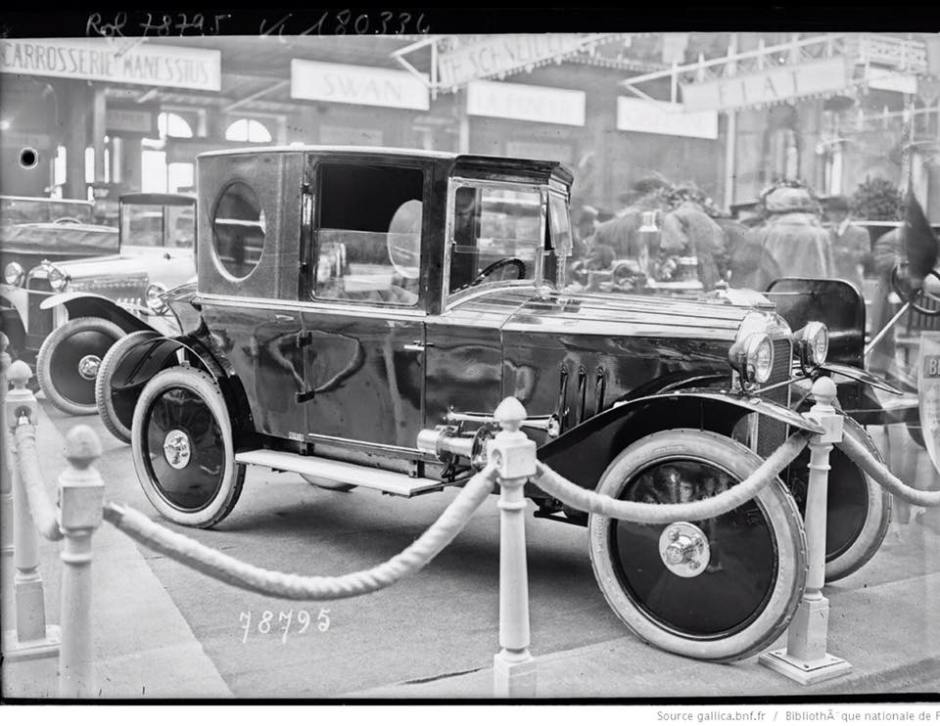 Benjamin Bagatelle Autosalon Paris 1922