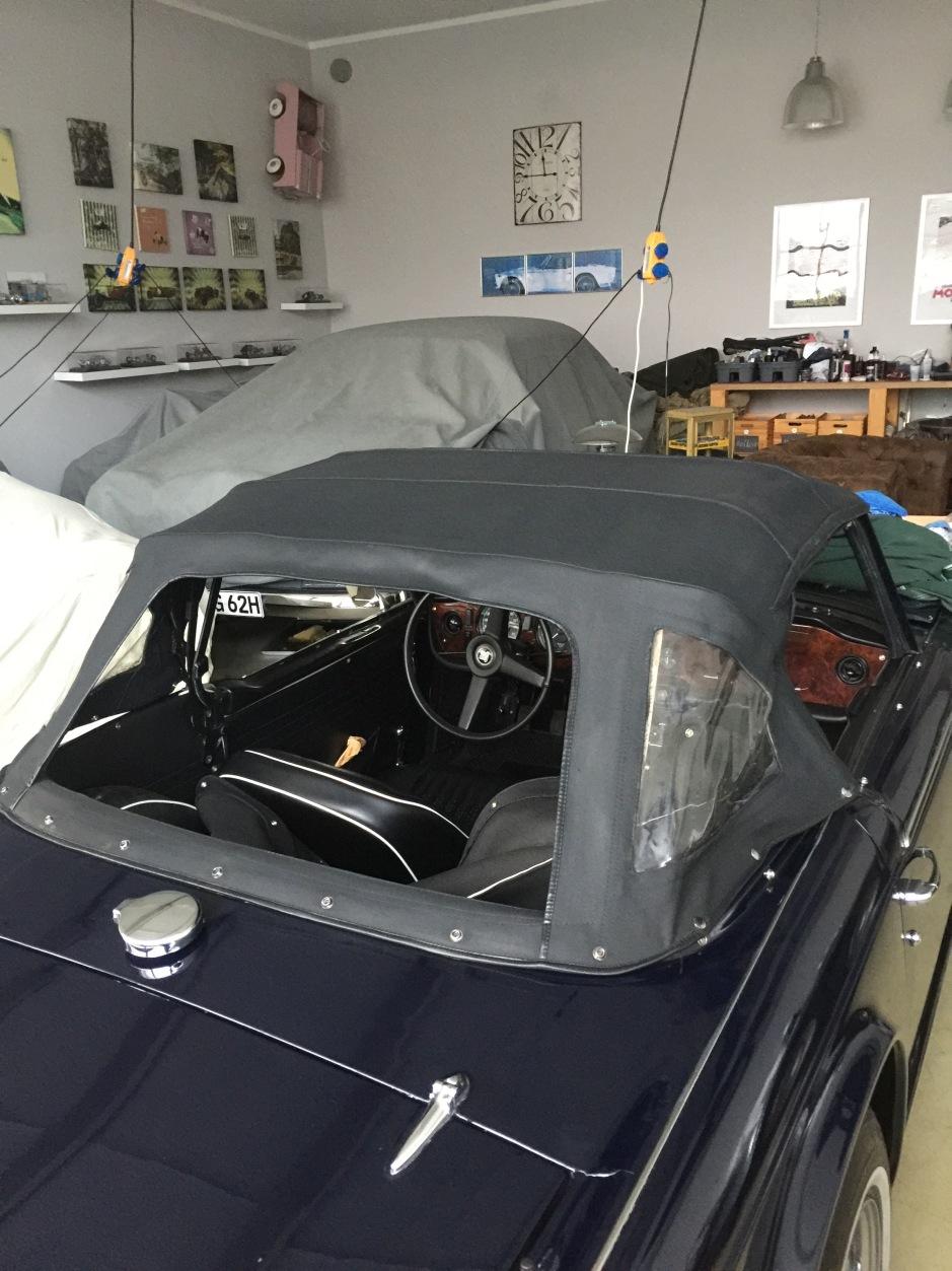 Dach Triumph TR5