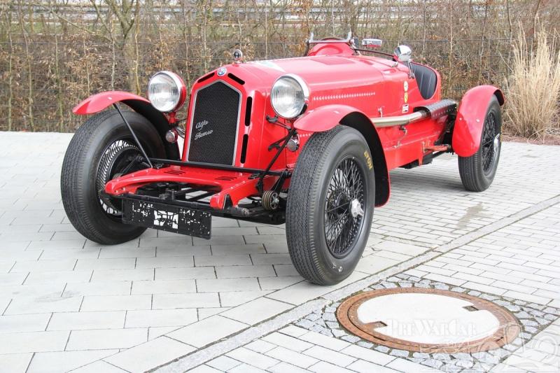 Alfa Romeo 8C Monza Evocation 1934