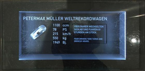 Petermax Weltrekordwagen