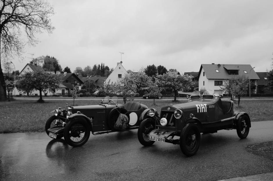 Mille Miglia Fiat 509 S von 1931  und Fiat 509 Adams Special 1927