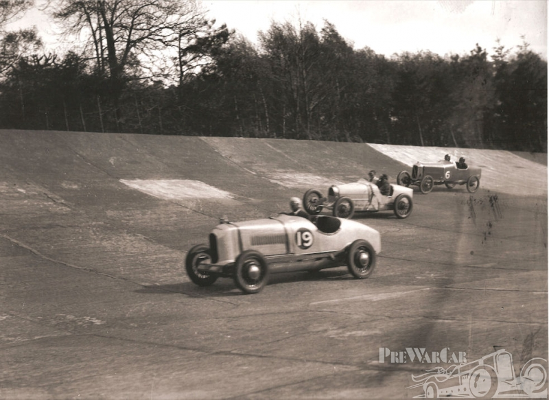 Donnet Zedel in Brooklands