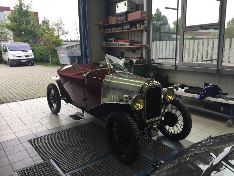 Benjamin Typ B 1922 in der Werkstatt bei kfz-kuernsteiner-erber.de
