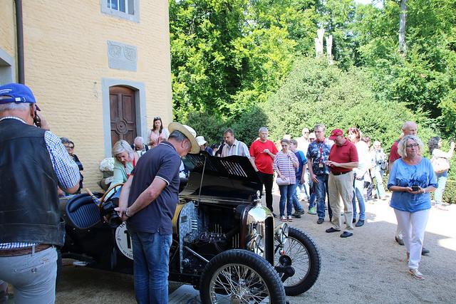 Amilcar bei den Schloss Dyck Classic Days