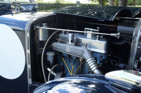 MG PA 1935 Motor