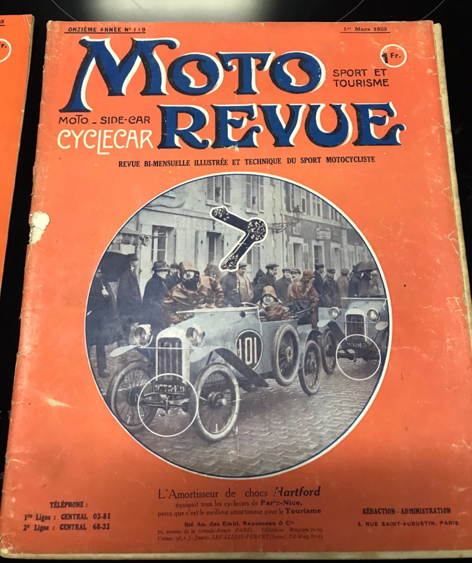 Moto Revue März 1923