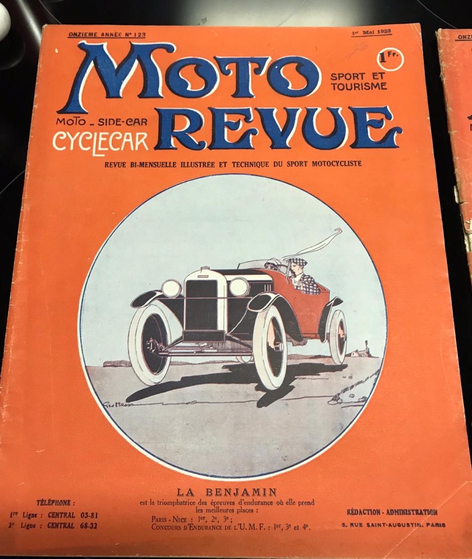 Moto Revue Mai 1923