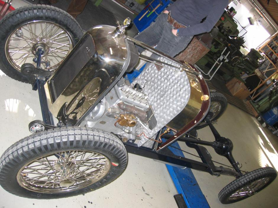 Amilcar CS Restauration