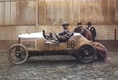 Lefant in einem Benjamin 1923