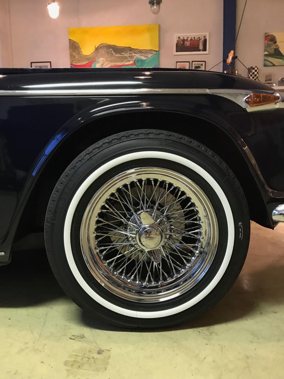 Triumph TR 5 Speichenfelgen