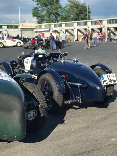 Nürburgring altes Fahrerlager