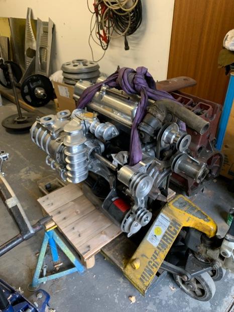riley Motor 2,5 Liter mit Kompressor