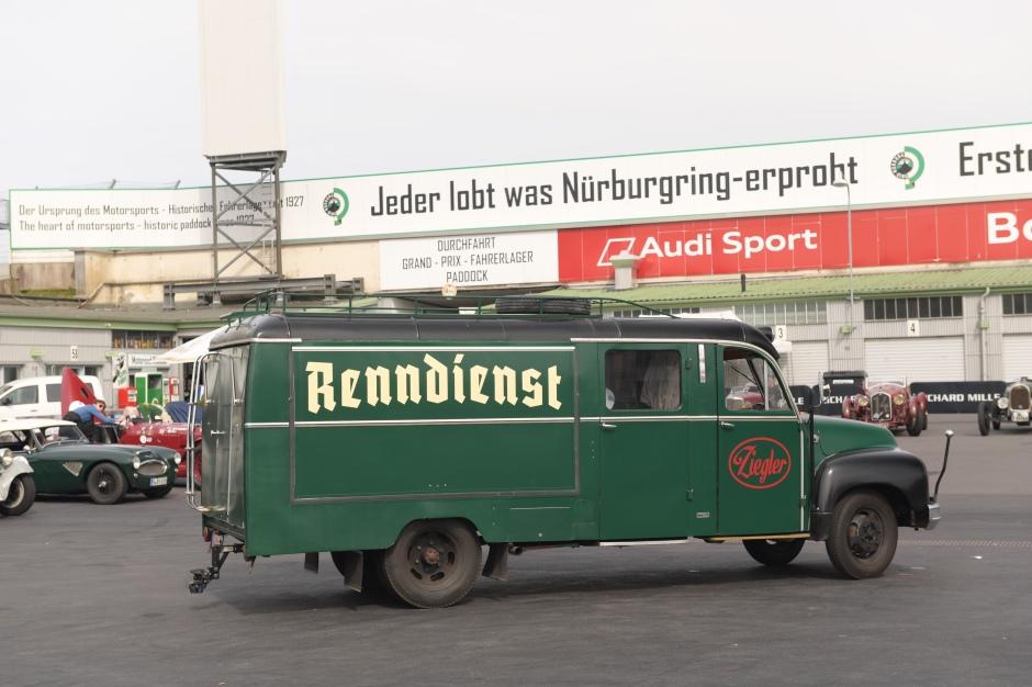Renntransporter - Nürburgring Classic