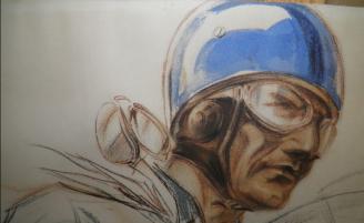 Robert Benoist sur Bugatti