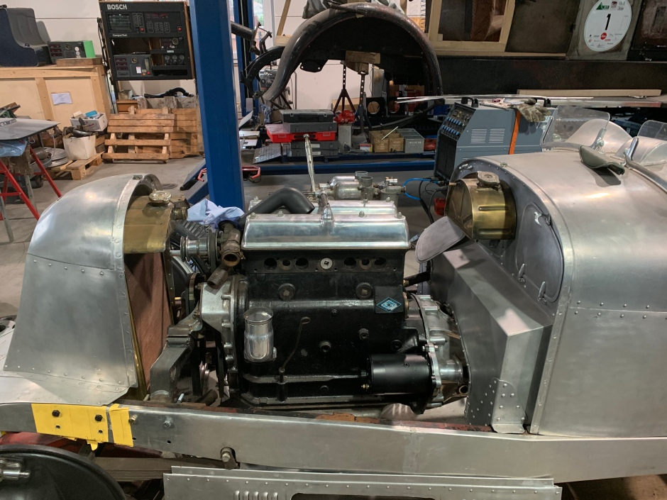 Riley Adelphi Special mit einem 2,5 Liter Kompressor Motor