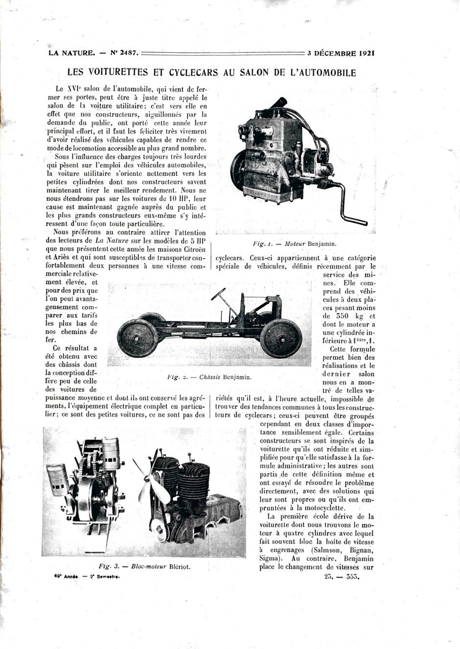 La Nature 1921