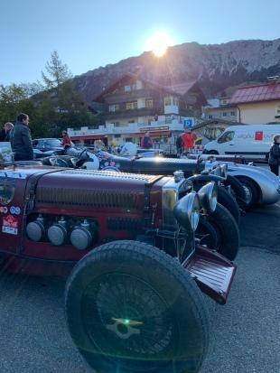 Jochpass Memorial 2019 Fahrerlager oben
