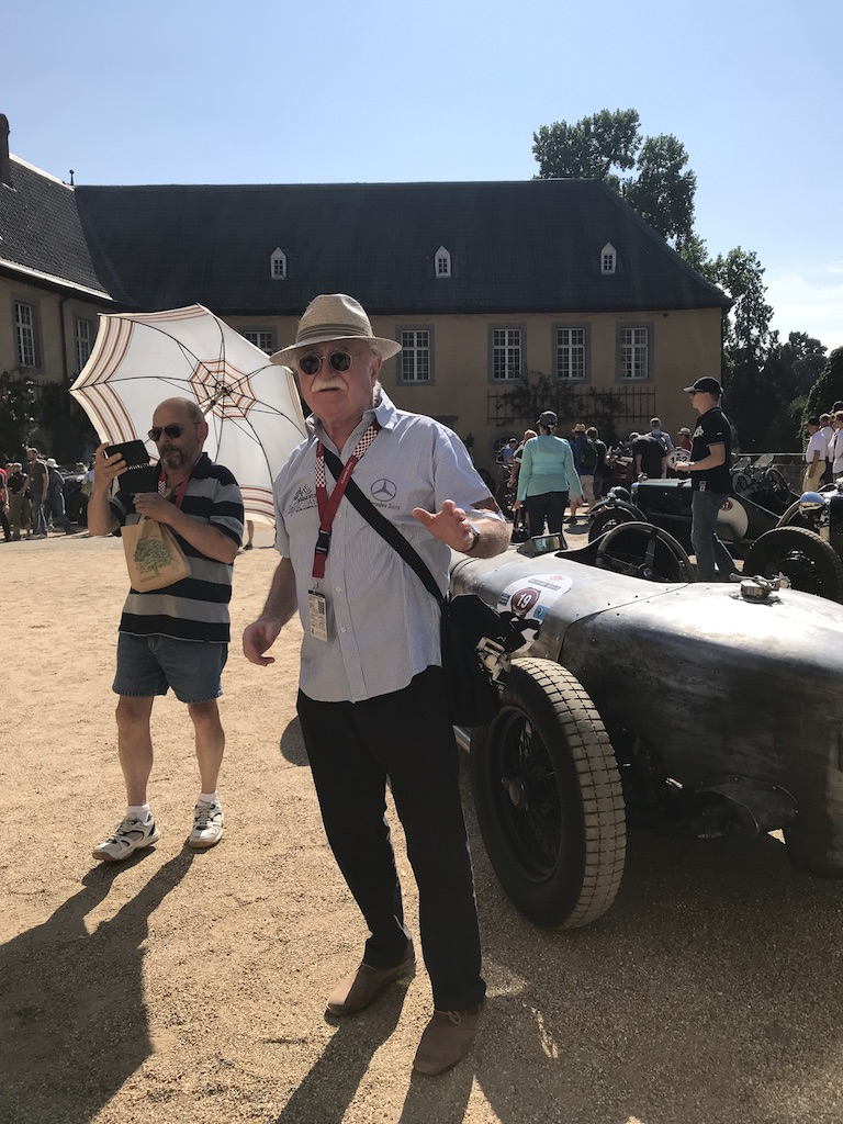 Helmut bei den Schloss Dyck Classic Days