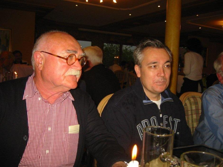 Mit Helmut beim Dixi Treffen