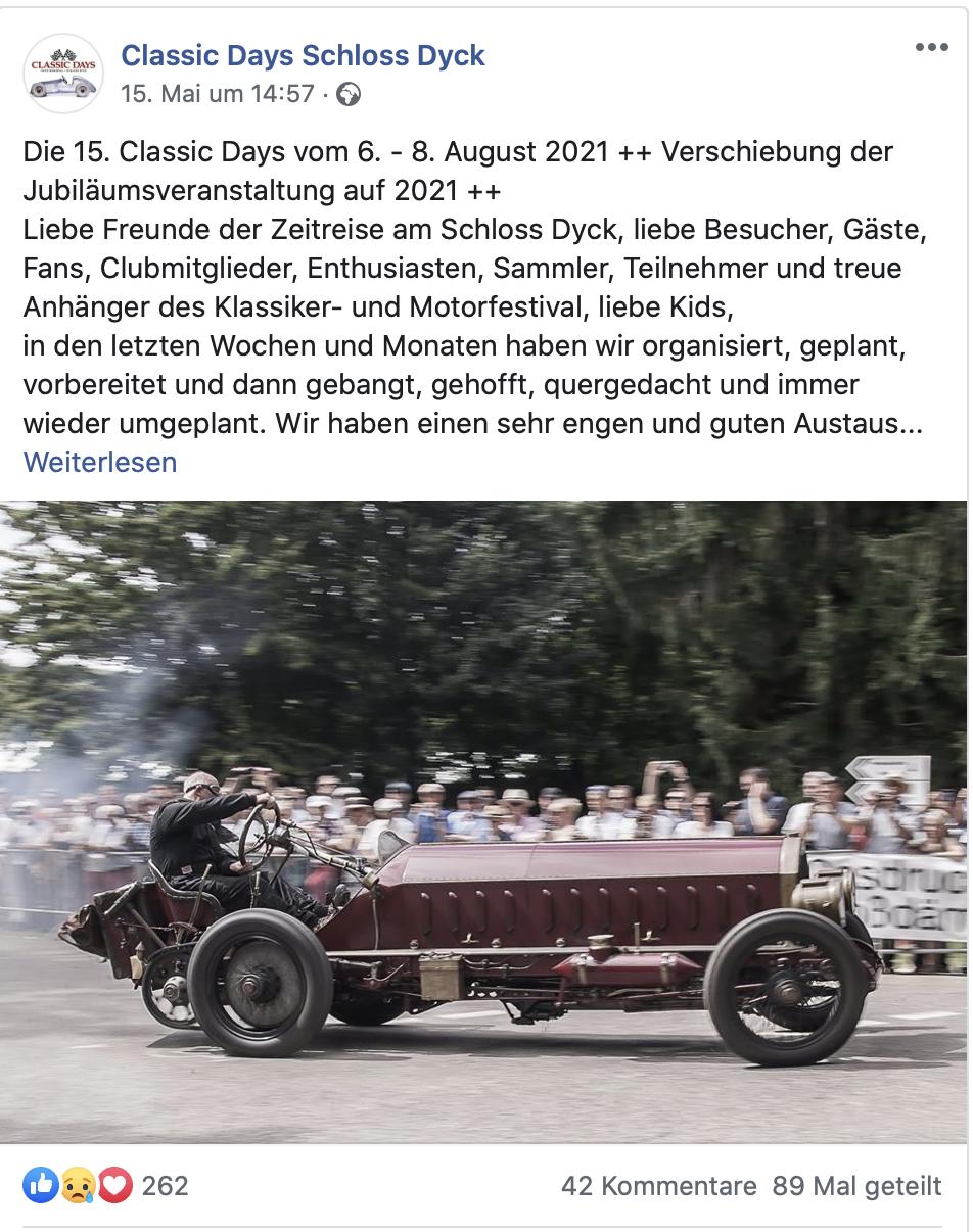 Quelle FB Classic Days Schloss Dyck